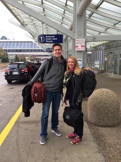 Leaving MSP airport