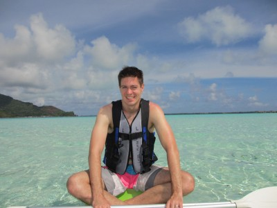 John Kayaking in Bora