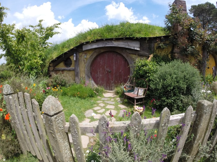 Hobbit Hole Fish Eye