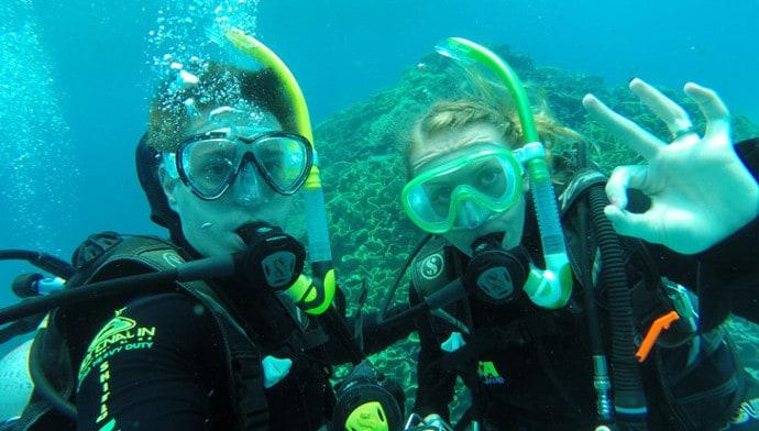 We are PADI Certified Divers!