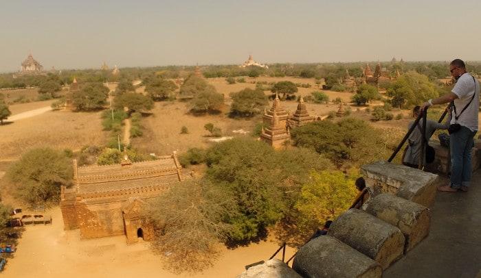 miles of temples bagan