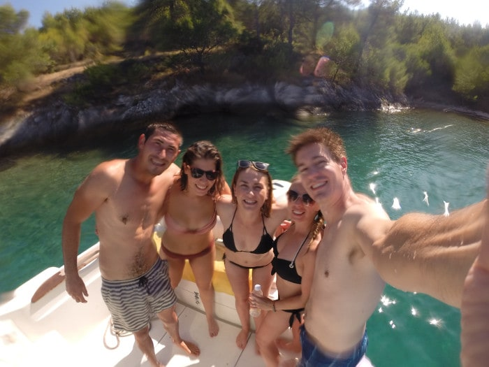 Croatia fun boat tour