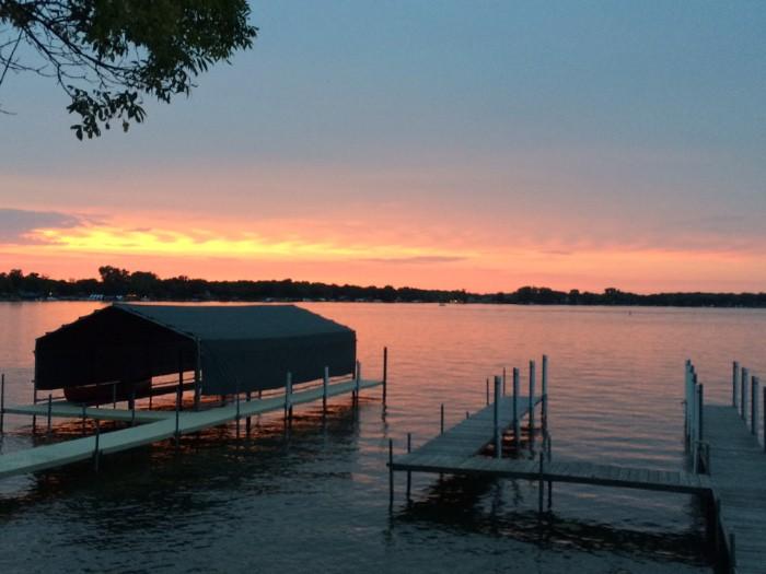 home-sunset