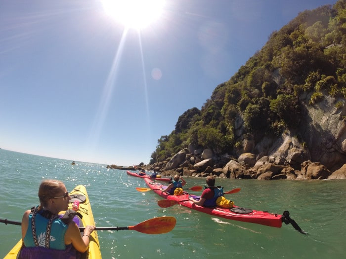 kayak tour new zealand