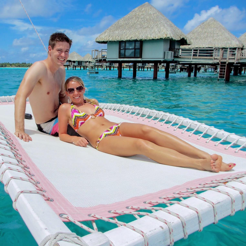 Alicia and John Bora Bora